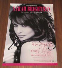 SARAH BRIGHTMAN Japan PROMO ONLY 73 x 51 cm TOUR POSTER official 2014 rare!