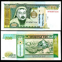 MONGOLIA 500 TUGRIK P 65A 2000 UNC
