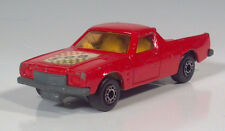 "Matchbox No60 Lesney Superfast Holden Pickup 500 3"" Red Scale Model"