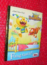 Little Golden Book Henry HuggleMonster Fangtastic Disney Junior  1st