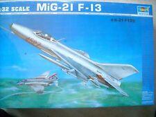 TRUMPETER-1/32-#02210- MIG-21 F-13