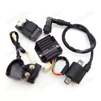 Zündspule Zündung CDI Relay Relais Gleichrichter Kit Für Chinese ATV Quad