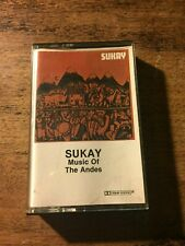 Sukay Music of the Andes Flying Fish Records  cassette