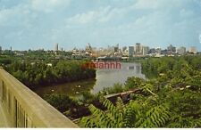 RICHMOND, VA Skyline of the Capital City as seen from LEE BRIDGE 1966