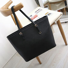 Lady Women's Classic Hobo Bag Tote Shoulder Messenger Handbag Bag Black