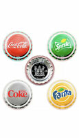 2020 Fiji Coca Cola Vending Machine 4 Coin Set Coke, Sprite, Fanta, & Diet Coke