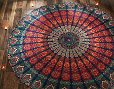 Mandala Hippie Round Tapestry Bohemian Indian Home Decor Ethnic Table Cloth 70
