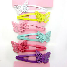 6pcs Mixed Butterfly Hair Clip Snaps Accessories for Girls Kids Baby 1 Set