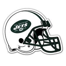 NFL NIP 12 INCH AUTO MAGNET NEW YORK JETS HELMET