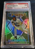 1995 BRET SABERHAGEN FINEST REFRACTOR #166  PSA 9 METS POP 2 NONE HIGHER (238)