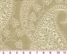 Overstock Paisley Fabric by PK Lifestyles Upholstery Fabric Ashland Gold Sheen