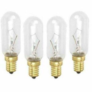 4 X 40W 230V SES E14 COOKER HOOD LAMPS / OVEN LIGHT BULBS LIGHTING BULB NEW