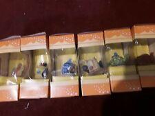 6 tetley tea folk teapots