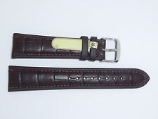 """DI-Modell Calfskin Waterproof Leather 22 mm D BROWN Watch Band """"IMPERATOR WAPRO"""""""