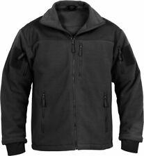 Black Special Ops Tactical Fleece Jacket