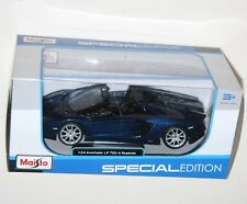 Maisto - LAMBORGHINI AVENTADOR LP700-4 ROADSTER (Blue) - Model Scale 1:24