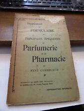 supplément au formulaire des spécialités de parfumerie et de pharmacie Cerbelaud