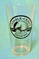 Stable Craft Brewing Virginia Pint Beer Glass