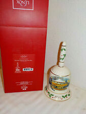 Lenox Annual Holiday Christmas Collector Bell 2014 Carousel W/Box