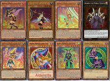 Yugioh Magician Girl Deck - Dark, Chocolate, Berry, Apple, Kiwi, Lemon, Chaos
