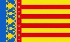 Aufkleber Valencia Flagge Fahne 18 x 12 cm Autoaufkleber Sticker