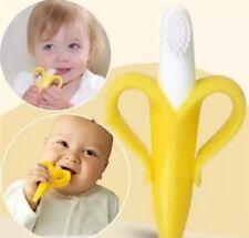 Beißring für Babys - Bananen Zahnbürste Baby Zahnungshilfe Fingerling