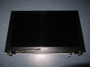 "Display Einheit Deckel Sony PCG-41311M 13.1"" VPCZ21A9E Kabel Scharniere defekt"
