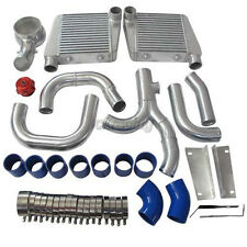 CXRacing Intercooler Piping BOV Kit For Chevelle Nova Malibu Impala SBC V8 Turbo