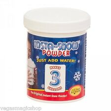 Insta-Snow Powder 100 Gram Jar -Add Water Fluffs Like Real Snow Science Project