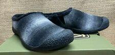 NIB Keen 1023478 Women's Howser Slide Black Plaid/ Dark Grey Casual Slipper