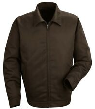 FAMOUS RED KAP SLASH POCKET JACKET JT22 - BROWN DICKIES HOT ROD