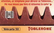 France télécarte 50 Toblerone