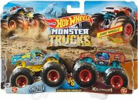 Monster Trucks HW 1:64 Demo Doubles Raijyu vs.Kovmori