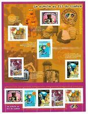Bloc Feuillet 2001 N°35 Timbres - Le Siècle au Fil du Timbre - Communications
