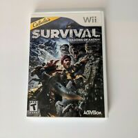 Cabelas Survival: Shadows of Katmai Wii Action / Adventure (Video Game) tested