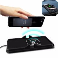 Car Dashboard AntiSlip Mat Non Slip Qi Wireless Charger Holder for Phone Samsung