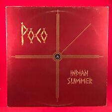 POCO Indian Summer 1977 UK VINYL LP + INNER EXCELLENT CONDITION Donald Fagen