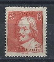 France N° 306** (MNH) 1935 - Jacques Callot