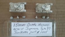 15mm Battle Honors  WWII Japanese Type 97 Tankette
