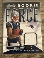 N'Keal Harry 2019 Panini Absolute Rookie Force New England Patriots Card #RF-23