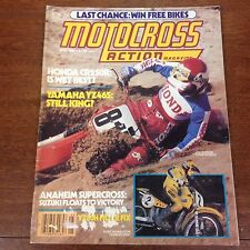 MOTOCROSS ACTION MAY 1981 YZ465 G CR250 JIM GIBSON VINTAGE TWINSHOCK VMX CR