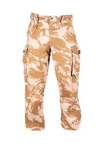 British Army Desert Combat Trousers Camo Grade 1 Camouflage Military Surplus UK
