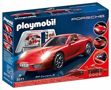 Playmobil 3911 Porsche 911 Carrera S with workshop tuning & effects light