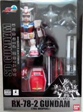 SD Gundam Action Figure Collection - RX-78-2 Gundam (Full Weapon)