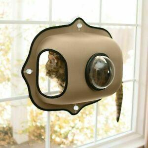 Cat bed, Bubble Pod DOUBLE Window cosy snuggly pet window hammock bed Den Kitten