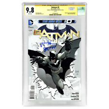 Val Kilmer Autographed 2012 The New 52 Batman #0 CGC SS 9.8 with Batman Mint