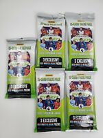 (5 LOT) Panini PRIZM 2020-21 Premier League EPL Soccer Cello's 15 Cards each!!