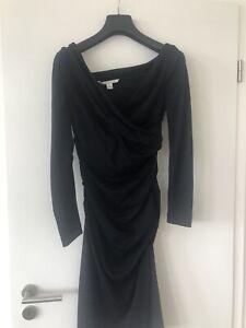 Diane von Fürstenberg, Jerseykleid, dunkelblau, Gr M