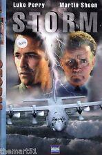 Storm (1999) VHS Eagle Video 1a Ed. -  Luke Perry Martin Sheen