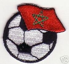Soccer le football Morocco Le Maroc Embroidery Patch